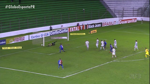 Concentrado na Capa do Brasil, Paraná Clube perde na Série B
