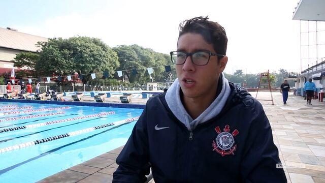 Vai, Corinthians - Entrevista com o nadador Brandonn Almeida