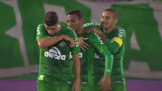Os gols de Chapecoense 2 x 0 Avaí pela 3ª rodada do Brasileirão 2017
