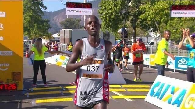 Queniano vence a Meia Maratona do Rio