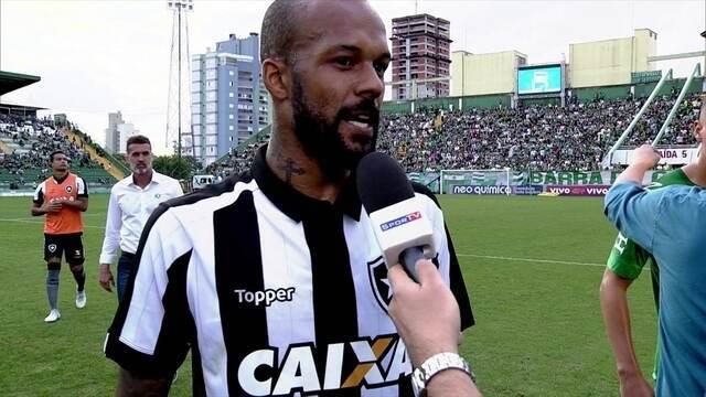 """Bruno Silva sobre recepção da torcida da Chapecoense: """"Ingratidão. Tem que ter respeito"""""""