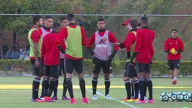 Contra o Santos, Sport quer manter postura do meio de semana