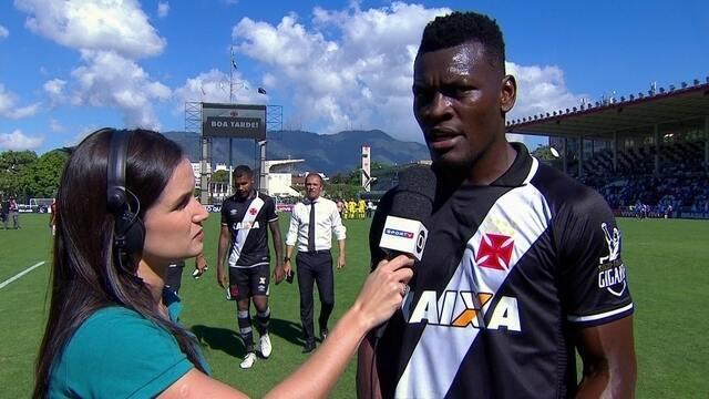 Paulão afirma que falta de entrosamento dificultou início do Vasco no Brasileiro