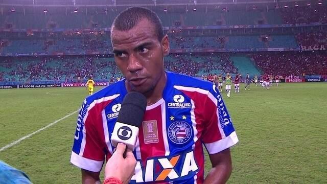 Régis Souza destaca dificuldade de jogar com um a menos contra o Flamengo