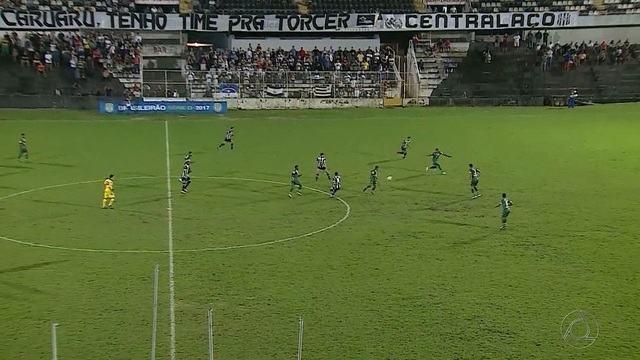 Sousa vence o Central em Caruaru e garante classificação para o mata-mata da Série D