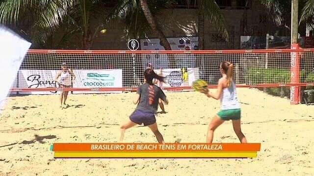 Fortaleza recebeu o Campeonato Brasileiro de Beach Tennis