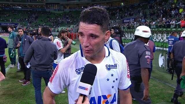 Thiago Neves diz que poderiam ter conquistado a vitória, mas é difícil jogar no Palestra