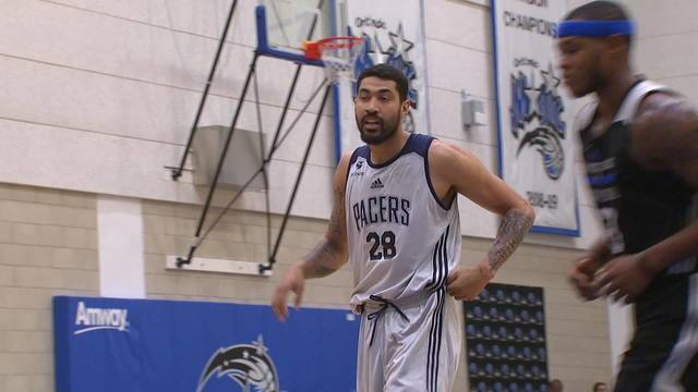 Veja imagens do brasileiro Augusto Lima pelo Indiana Pacers na Liga de Verão da NBA