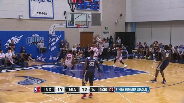 Melhores momentos de Miami Heat 83 x 86 Indiana Pacers pela Liga de Verão da NBA