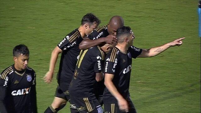 Os gols de Ponte Preta 4 x 0 Coritiba pela 15ª rodada do Brasileirão