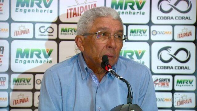 Em casa, Givanildo empata com Boa Esporte e deixa de entrar no G-4 da Série B