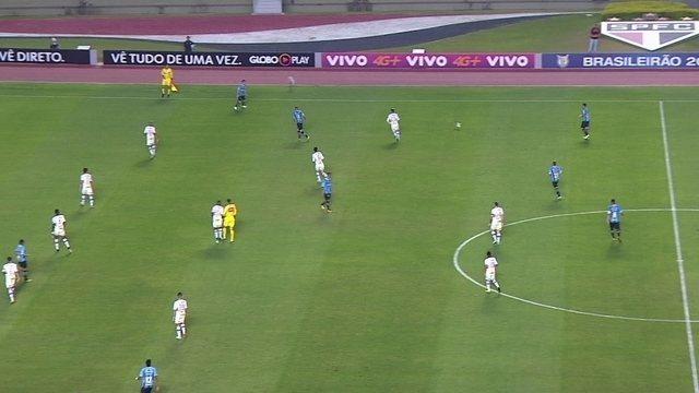 Jogadores do São Paulo entram em campo com camisa em homenagem a Waldir Peres