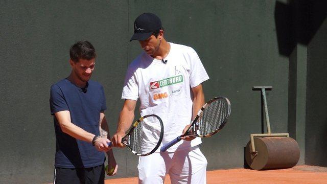 #comofazGE 16: Marcelo Melo dá aula de saque no tênis