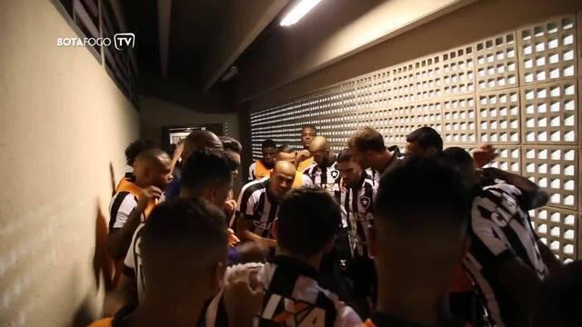 Confira os bastidores da vitória do Botafogo contra o Atlético-MG pela Copa do Brasil