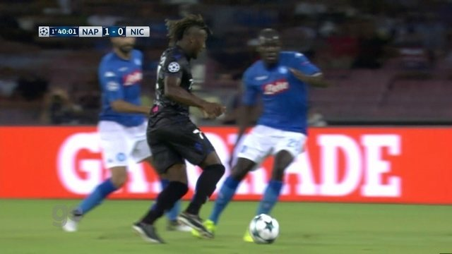Melhores momentos: Napoli 2 x 0 Nice pelos playoffs da Liga dos Campeões da Europa