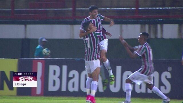 O gol de Fluminense 1 x 0 Chapecoense pelo Campeonato Brasileiro sub-20