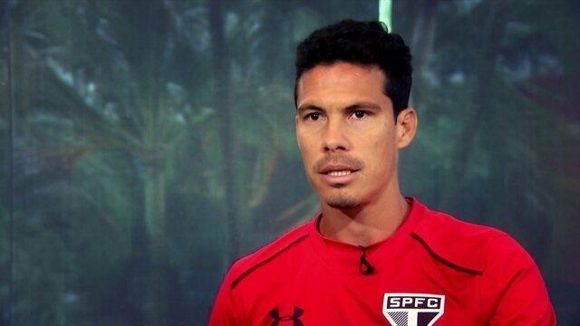 Hernanes diz que ainda está aprendendo ser capitão do São Paulo, e acredita em retomada