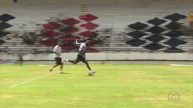 Por vitória, Santa Cruz intensifica treino de finalizações