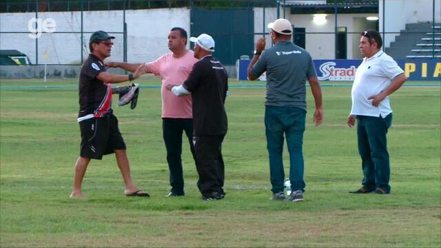 Dirigentes do River-PI brigam após empate na Copa Piauí