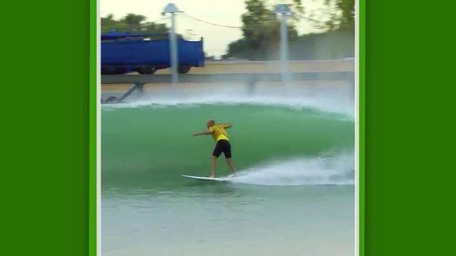 Kelly Slater volta a surfar em direita na piscina de ondas artificiais