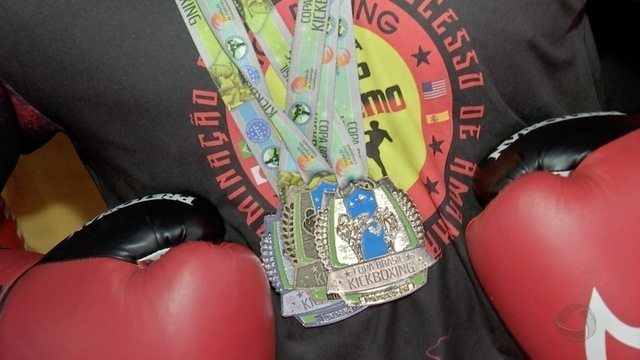 Atletas de kickboxing conquistam medalhas na Copa Brasil, e sonham com Sulamericano