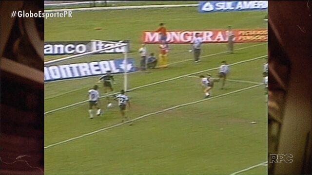 Timaço do Coritiba do final dos anos 80 começou a ser formado diante do Botafogo
