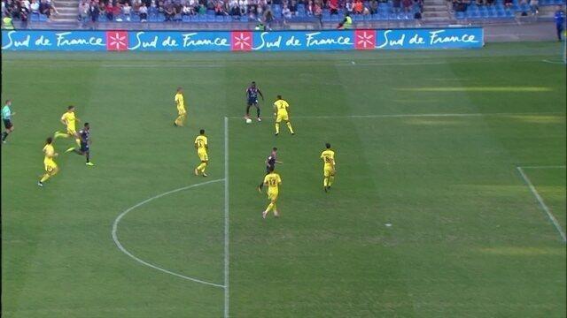 Montpellier vai ao ataque e Aréola pega chute de Ninga aos 15 do 2º tempo