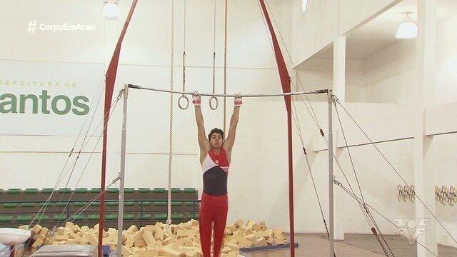 Ginasta de Santos conquista medalhas no Campeonato Brasileiro Juvenil