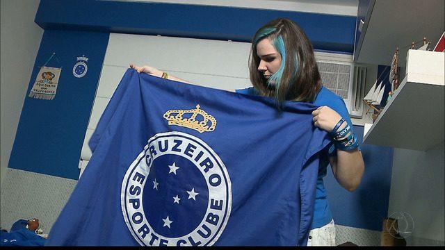 Sem ingresso, torcedora do Cruzeiro viaja para BH para acompanhar final da Copa do Brasil