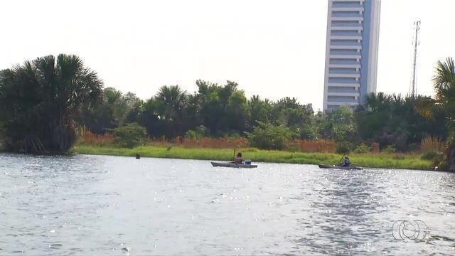 Praia da Graciosa recebe competição de pesca esportiva com caiaque; veja