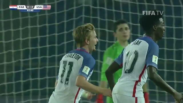 Estados Unidos goleiam o Paraguai pelo Mundial sub-17