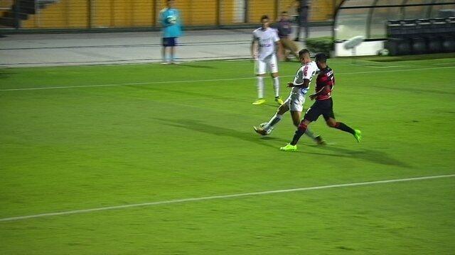 Melhores momentos de Santos 2 x 2 Vitória pela 28ª rodada do Campeonato Brasileiro