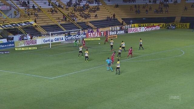 Criciúma perde para o Vila Nova e estaciona na tabela da Série B