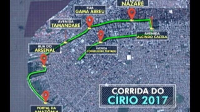 Corrida e Caminhada do Círio têm novos percursos em 2017