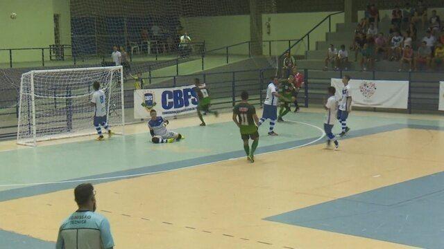 Mojuca estreia com empate na Liga Norte de Futsal, em RR.