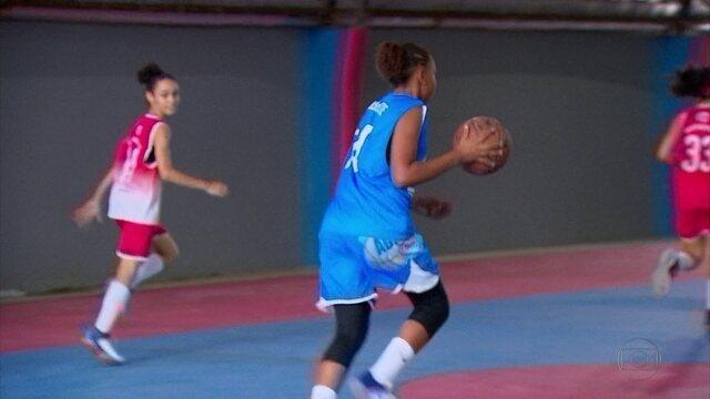 Apaixonada por basquete, atleta pernambucana vai realizar o sonho de defender a seleção