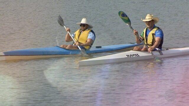 Caubói de MS é apaixonado pela moda sertaneja e medalhista de canoagem