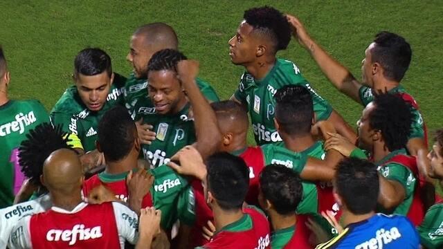 Os gols de Palmeiras 2 x 0 Ponte Preta pela 29ª rodada do Brasileirão