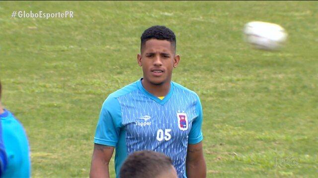 Paraná Clube faz último treino antes de enfrentar o América-MG