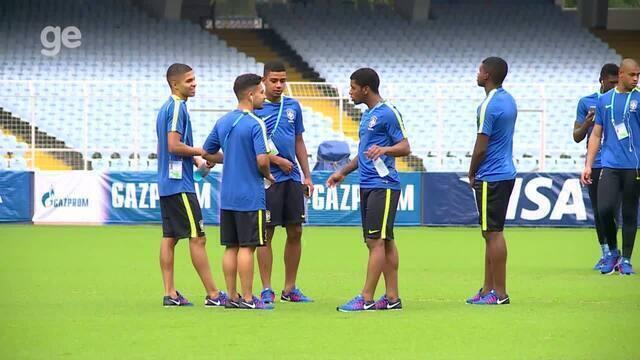 Boletim sub-17: Brasil volta a ter força máxima para decisão contra a Alemanha no Mundial