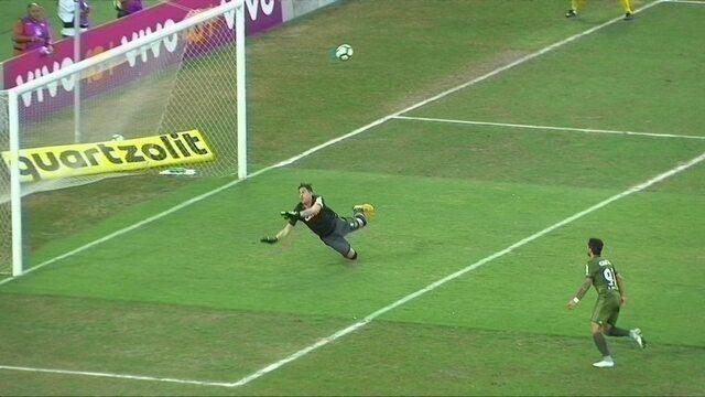 Os gols de Vasco 1 x 1 Coritiba pela 30ª rodada do Brasileirão 2017