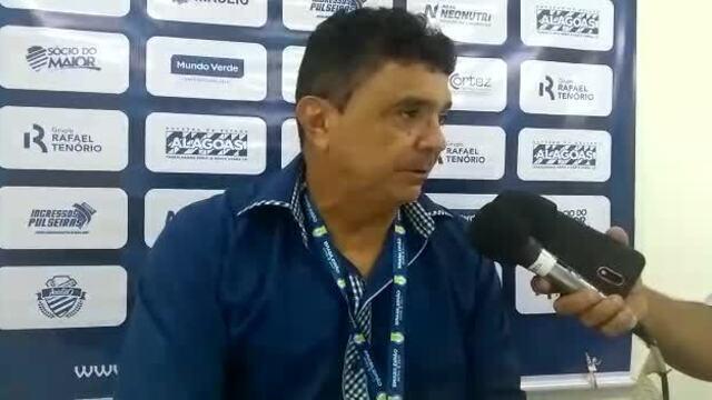 """Flávio Araújo fala sobre o título do CSA: """"Momento excepcional"""""""