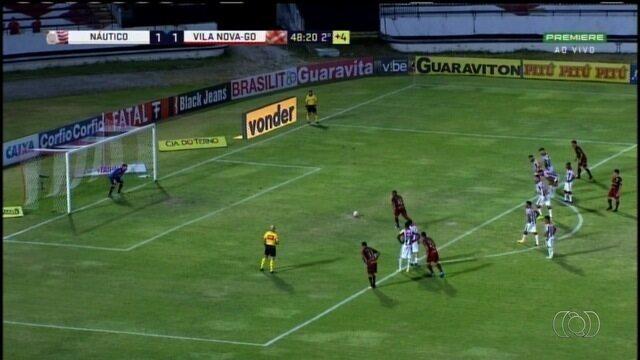 Vila Nova vence o Náutico, mas termina rodada sem chance de acesso