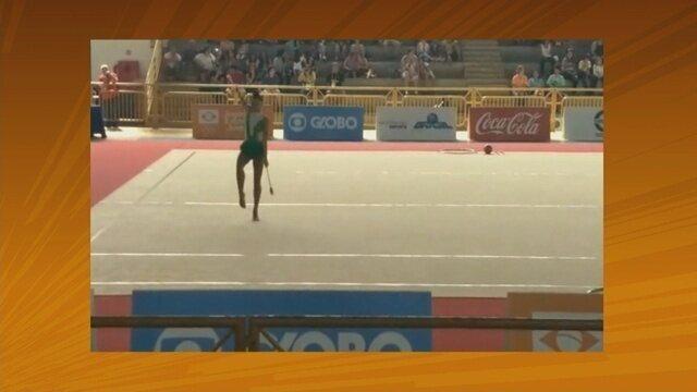 Ginasta de Rondônia conquista medalha de prata nos Jogos Escolares da Juventude no DF