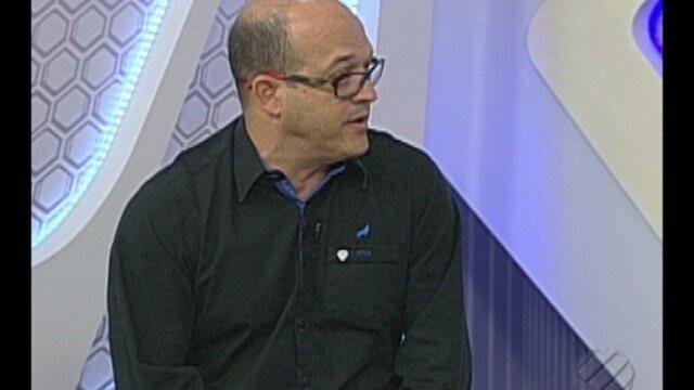 Tony Couceiro, presidente do Paysandu, participa do Globo Esporte