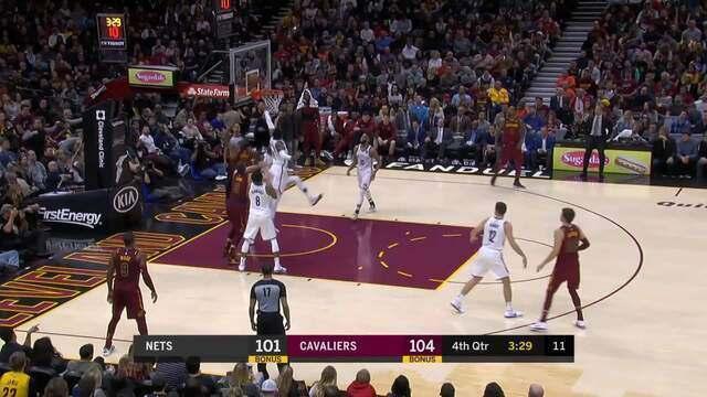 Melhores momentos: Cleveland Cavaliers 119 x 109 Brooklyn Nets pela NBA