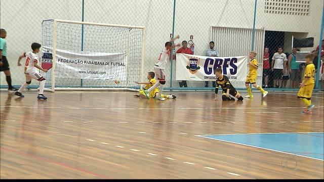 Cabo Branco segue imbatível na Taça Brasil de Futsal sub-11, em João Pessoa