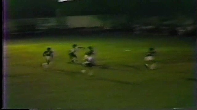 Veja gols do segundo amistoso entre AA Nova Venécia e Vasco, em 1985