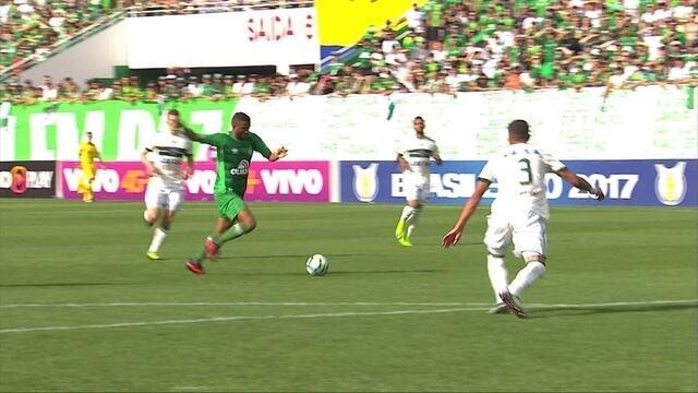 Melhores momentos de Chapecoense 2 x 1 Coritiba pela 38ª rodada do Brasileirão