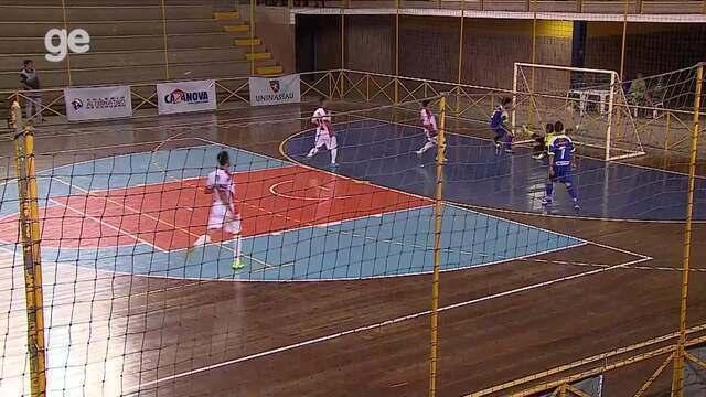 Gols da rodada de segunda-feira (4) na Copa TVAB de Futsal